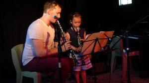 Benoît, professeur de clarinette