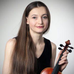 Iryna, professeur de violon