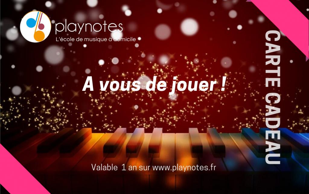 Carte cadeau Playnotes Noel